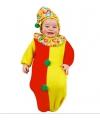 Clown carnavalskleding baby