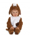Kostuum hondje voor baby's
